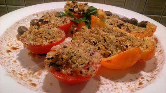 Запеченные овощи а-ля итальяно