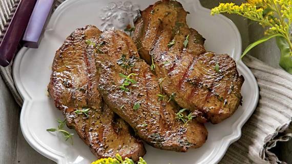 рецепт приготовления стейка из грудки индейки