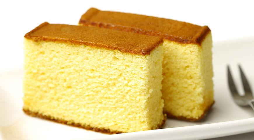 сладкий бисквит рецепт