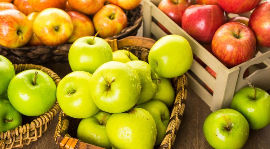 про яблоки картинки