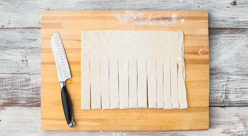 плетенка с начинкой пошаговый рецепт