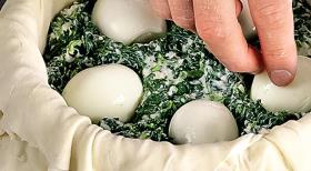 Пасхальный яичный пирог. Шаг 6