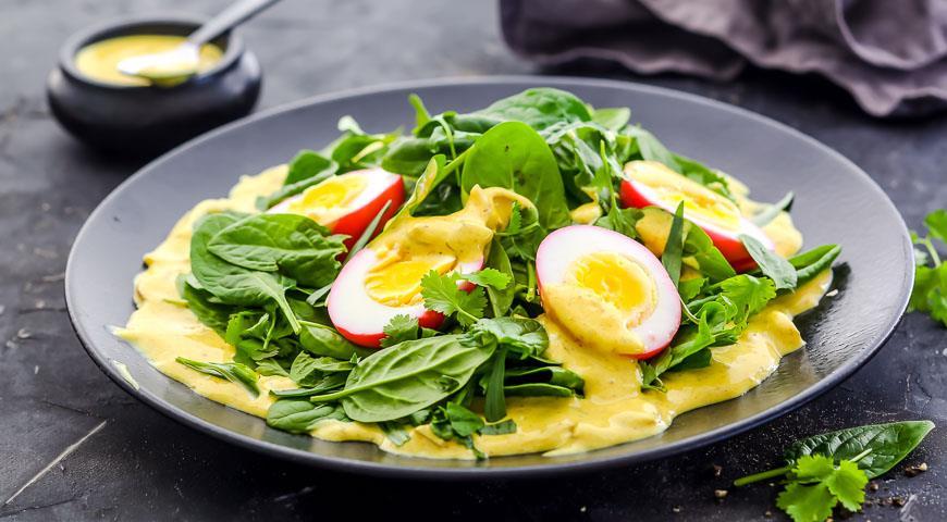 салат карри рецепт из специй
