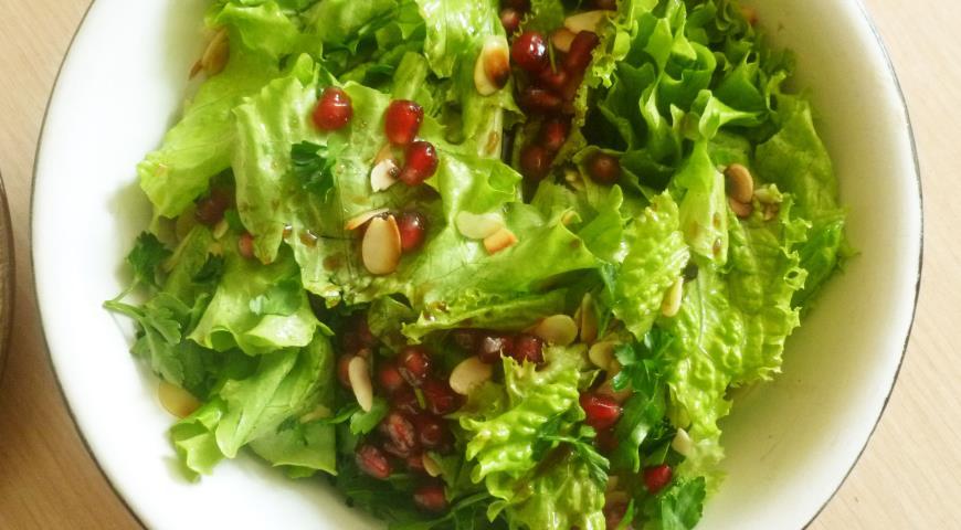 Рецепты салатов гранатом фото