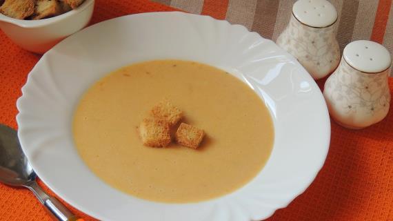 Суп-пюре картофельно-морковный