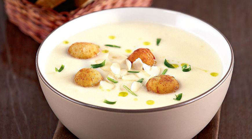 Суп пюре из цветной