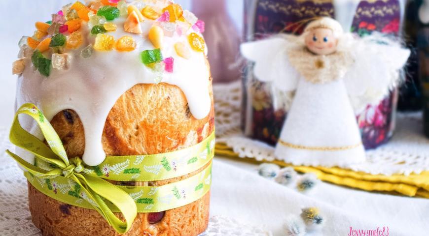 Итальянский пасхальный кулич, пошаговый рецепт с фото