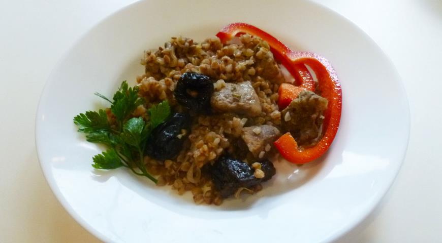 плов с мясом и черносливом рецепт с фото