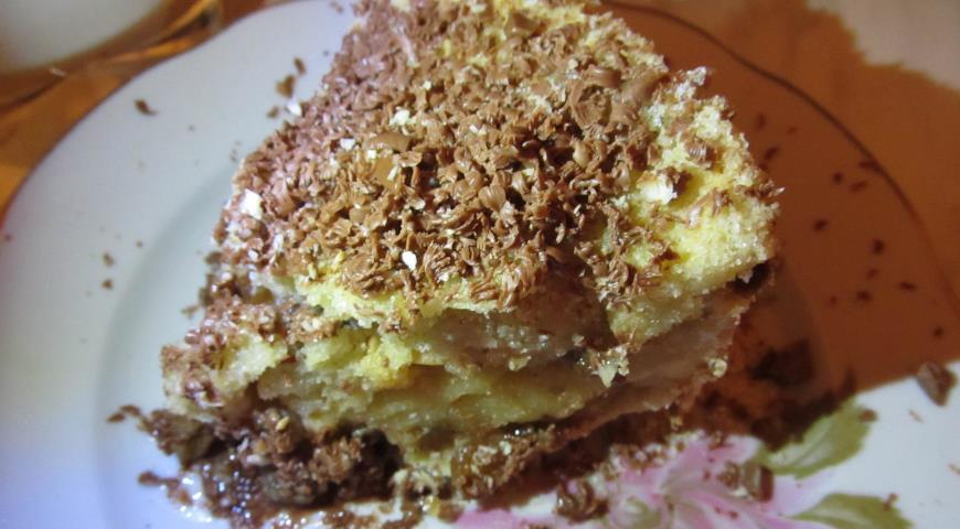 яблочное пирожное рецепт