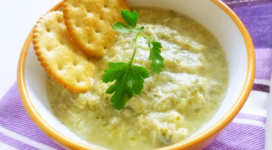 Куриный суп-пюре для детей. Шаг 4
