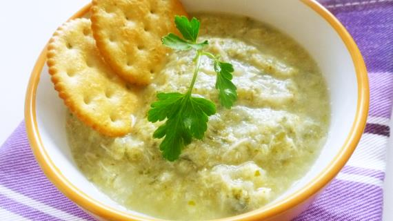 Куриный суп-пюре для детей