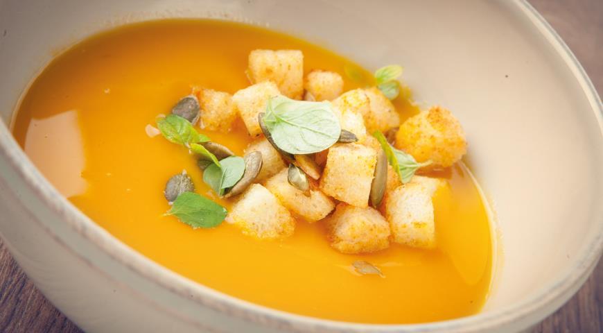 суп пюре из тыквы с имбирём рецепты приготовления