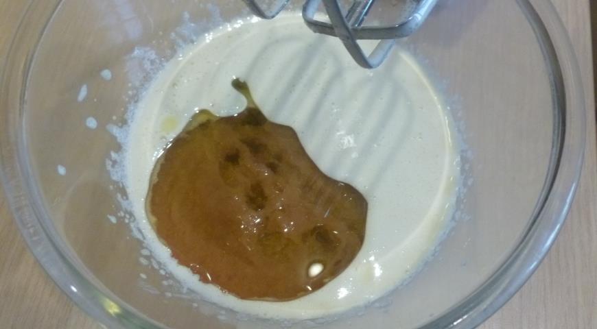 Кекс на яблочном пюре с орехами, пошаговый рецепт с фото