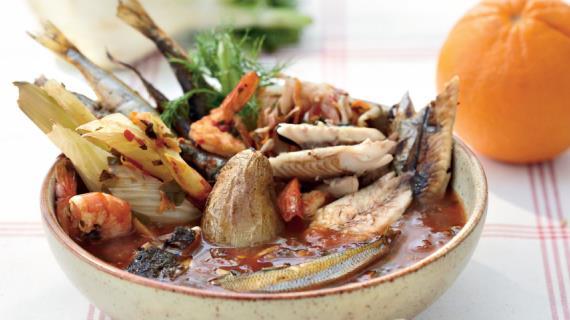 суп из краба в панцире рецепт