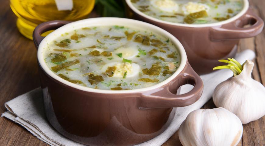 суп из щавеля от ларисы гузеевой рецепт