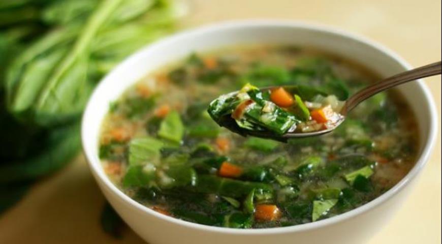 щавелевый суп рецепт с курицей и вареным яйцом