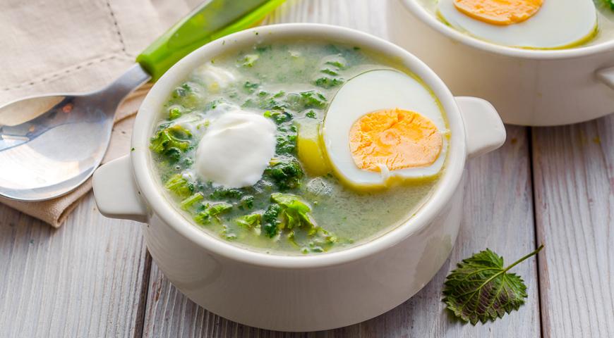 Суп из молодой крапивы, пошаговый рецепт с фото - Гастроном