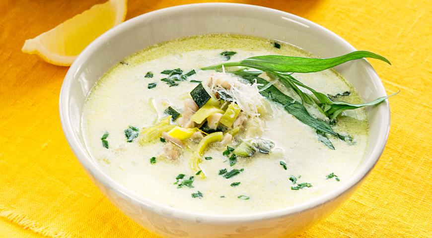 суп с кабачками рецепт с видео