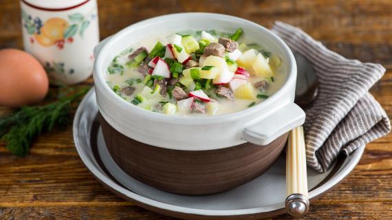 рецепты холодного супа из редиса