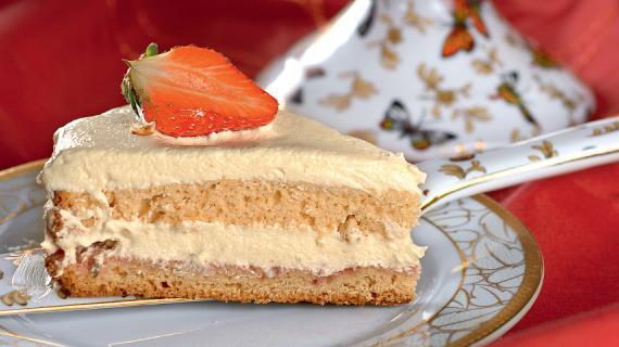 Рецепт клубничного торта пошаговый рецепт с