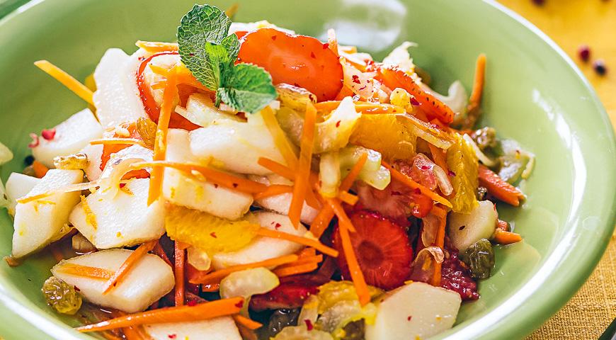 овощной фруктами Салат с