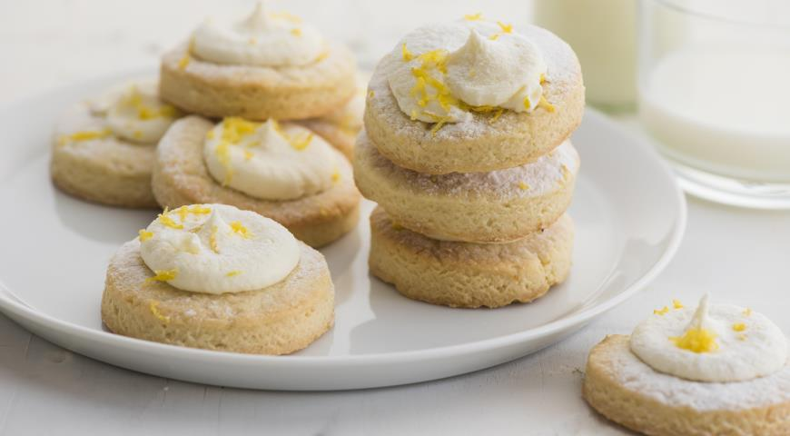 рассыпчатое песочное печенье рецепт с фото