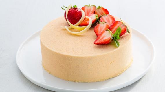 торт с клубникой рецепт с фото