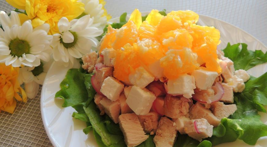 салат солнечный рецепт с фото