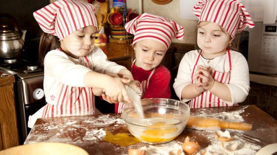 Как вырастить из ребенка кулинара