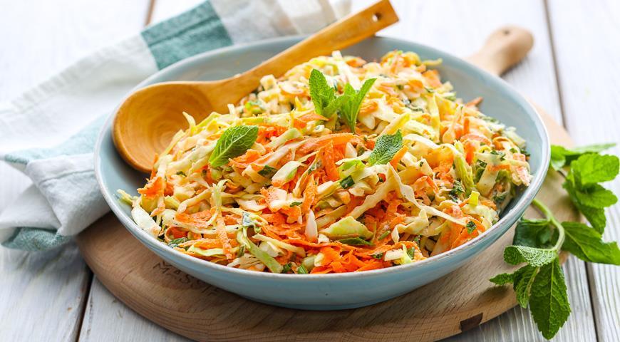 салат из капусты с морковью с майонезом рецепт