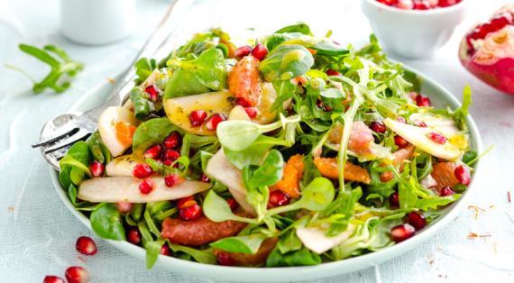 Салат из фруктов рецепт с простые