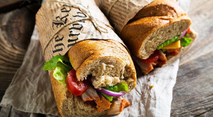 фото бутерброды дорогу