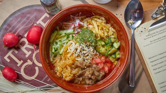 суп со свининой и домашней лапшой рецепты