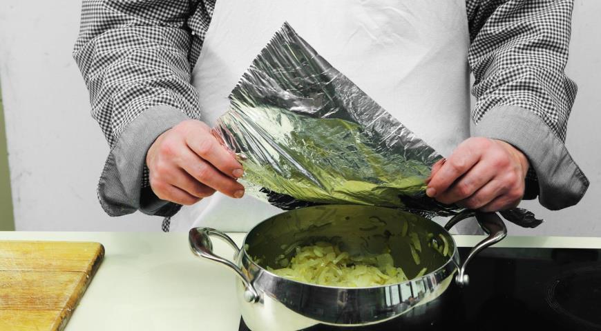 Постный луковый суп. Шаг 4