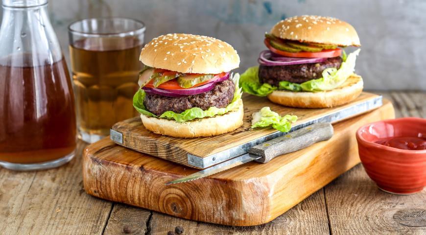 Американский бургер рецепт с фото