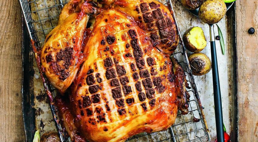 Фото рецепт целая курица