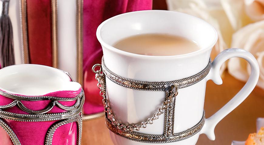 Чай с молоком по-английски рецепт пошагово в