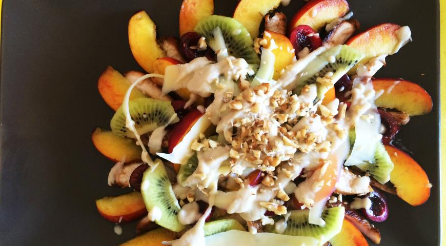 Рецепт фруктового салата технология