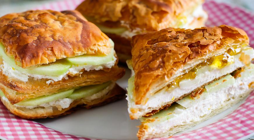 джем сэндвичи рецепт