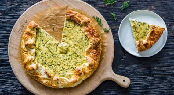 Пироги с зеленью - рецепты с фото