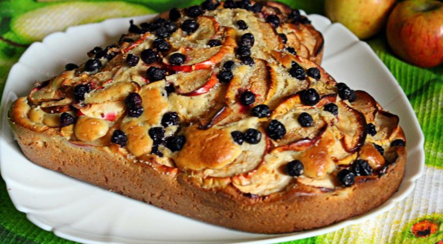 Пирог из красной рябины