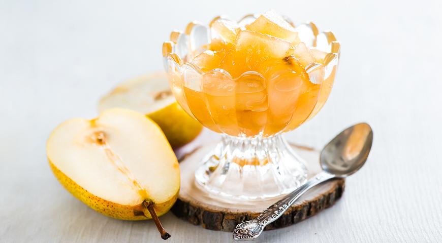 Джем из груш на яблочном соке, пошаговый рецепт с фото