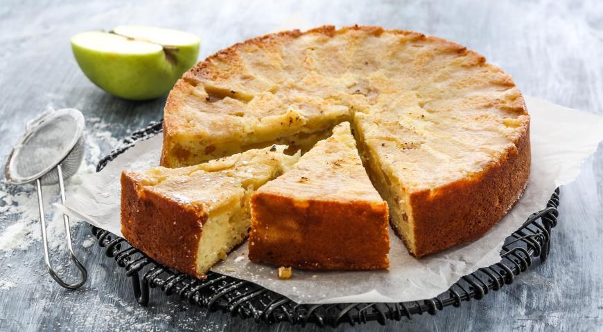 запеканка творожная рецепт в духовке с манкой и яблоками