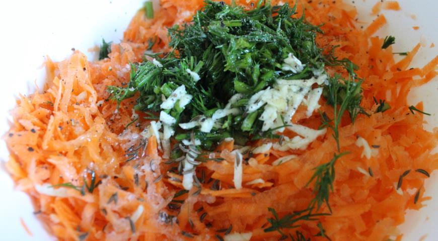 "Салат из свежей моркови ""Здоровье"". Шаг 3"