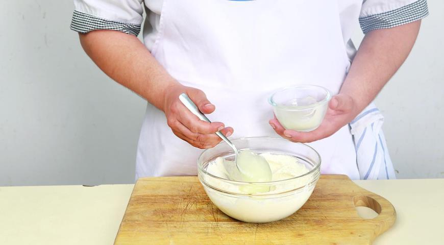 Быстрый творожный крем на завтрак, пошаговый рецепт с фото