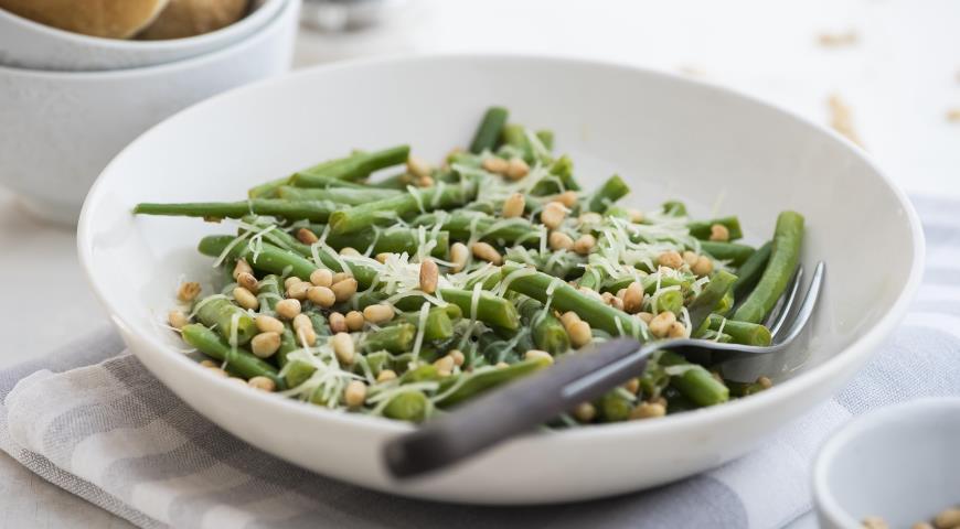 Зеленая фасоль рецепты приготовления с пошагово