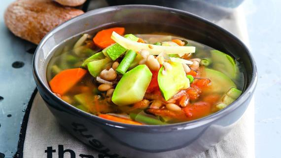 Провансальский овощной суп