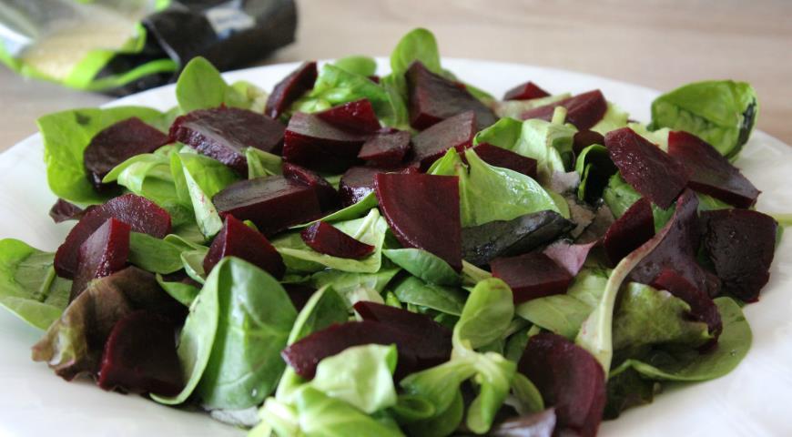 Свекольный салат с кускусом. Шаг 2