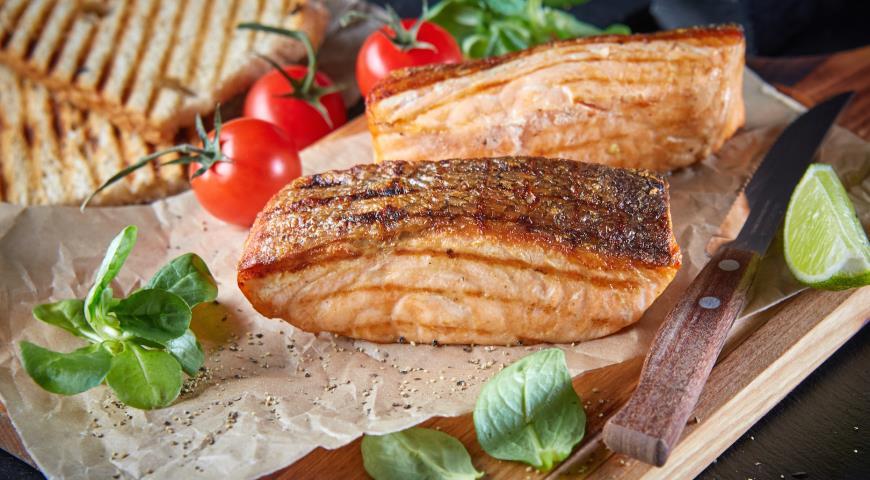 лосось стейк в духовке пошаговый рецепт