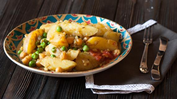 Картофель карри рецепт с фото